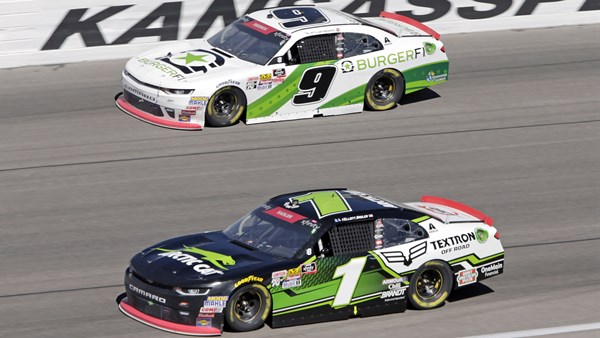 Race 30 of 33: Kansas Lottery 300 at Kansas Speedway Track Specs: 1.5-mile oval / 200 laps. Weather: Sunny; 63 degrees. Race Winner: John Hunter Nemechek